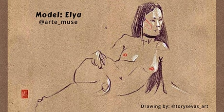 Figure Drawing on Zoom – Featuring Elya tickets