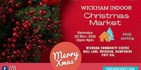 Wickham Christmas Market 2021 tickets