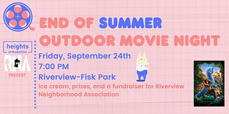 End of Summer Outdoor Movie Night tickets