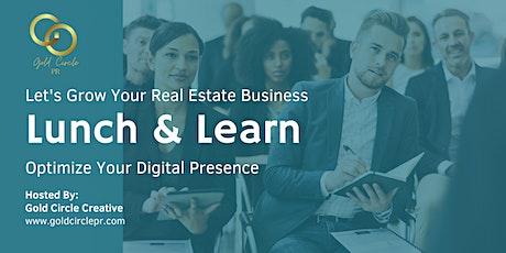 Optimize Your Digital Presence -  For Licensed Real Estate Agents entradas