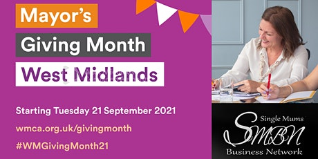 Mayor's Giving Month West Midlands Single Mums Business Webinar Q&A tickets