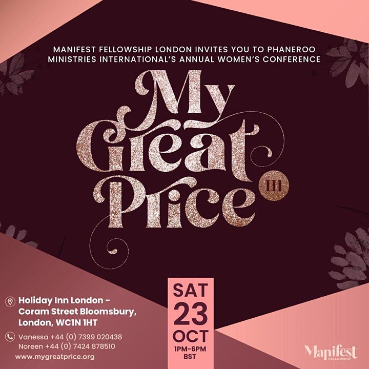 My Great Price Women's Conference image