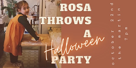 Rosa Throws a HALLOWEEN Party! tickets
