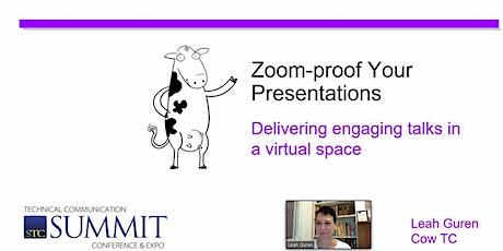 Workshop: Zoom-proof Your Presentations with Leah Guren tickets