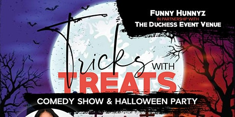 Tricks with Treats: Halloween Comedy Party tickets