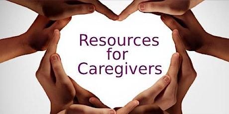 Drive-Thru Caregiver Resource Fair tickets