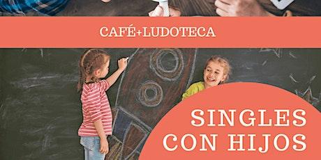 SINGLES CON HIJOS: LUDOTECA + CAFÉ entradas