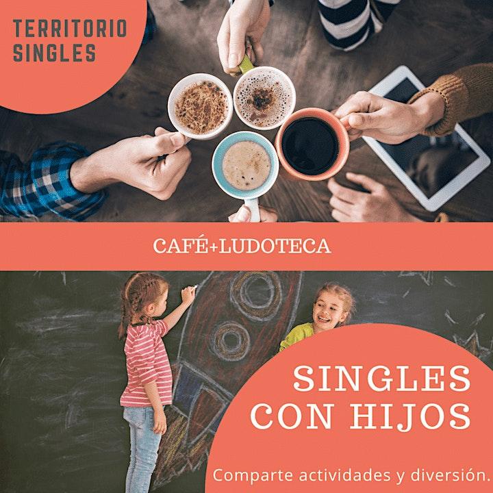 Imagen de SINGLES CON HIJOS: LUDOTECA + CAFÉ