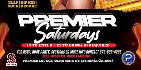 Premier Saturdays @ Premier Lounge ATL tickets
