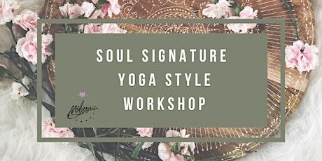 Soul Signature Yoga Workshop tickets