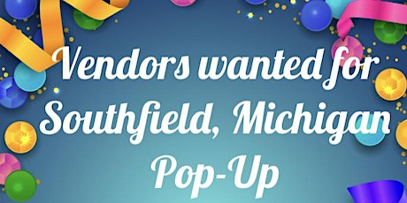 Vendors wanted for Pop-Up Shop tickets