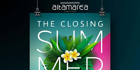 ALTA MAREA-SATURDAY EASY SABATO 25 SETTEMBRE biglietti