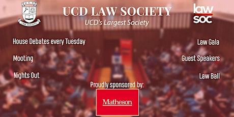 LawSoc presents the Dubs V. Culchies Debate tickets