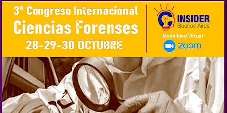 III Congreso Internacional Cs. Forenses ingressos