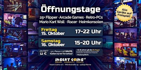 Öffnungstag (FREITAG 15.10.21) Tickets