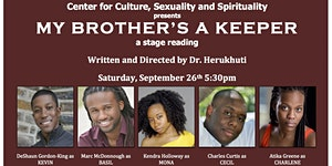 My Brother's a Keeper - Staged Reading