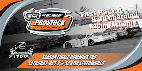 East Coast International Pro Stock Tour Cummins 150 tickets