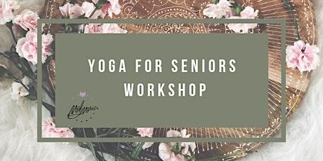 Yoga for Seniors Workshop tickets