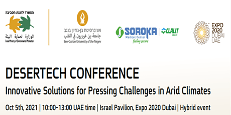 Innovative Solutions for Pressing Challenges in Arid Climates tickets