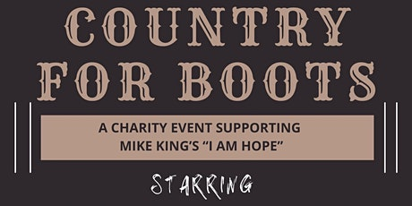 Country For Boots Take 2 tickets