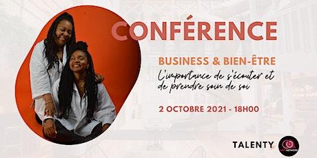 Conférence : Comment allier business et bien-être ? billets