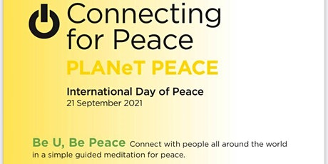 International Day of Peace Online Free Celebration Sept 21 Tuesday 8:30pm tickets