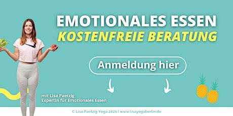 Emotionales Essen überwinden - Kostenfreie Beratung Tickets