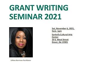 Grant Writing Seminar 2021 tickets