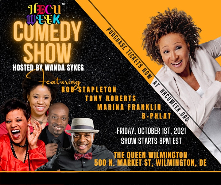 HBCU Week Comedy Show Hosted By Wanda Sykes image