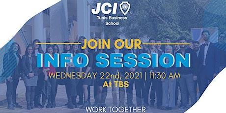 JCI TBS INFOSESSION billets