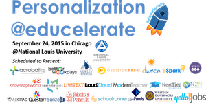 2015 Educelerate Conference: Personalization and...