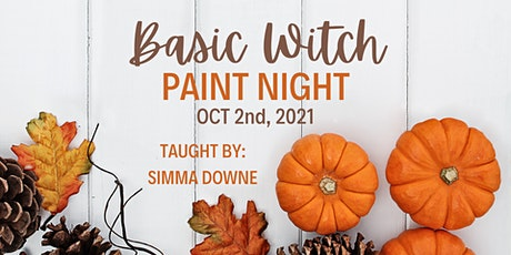 Basic Witch Paint Night tickets