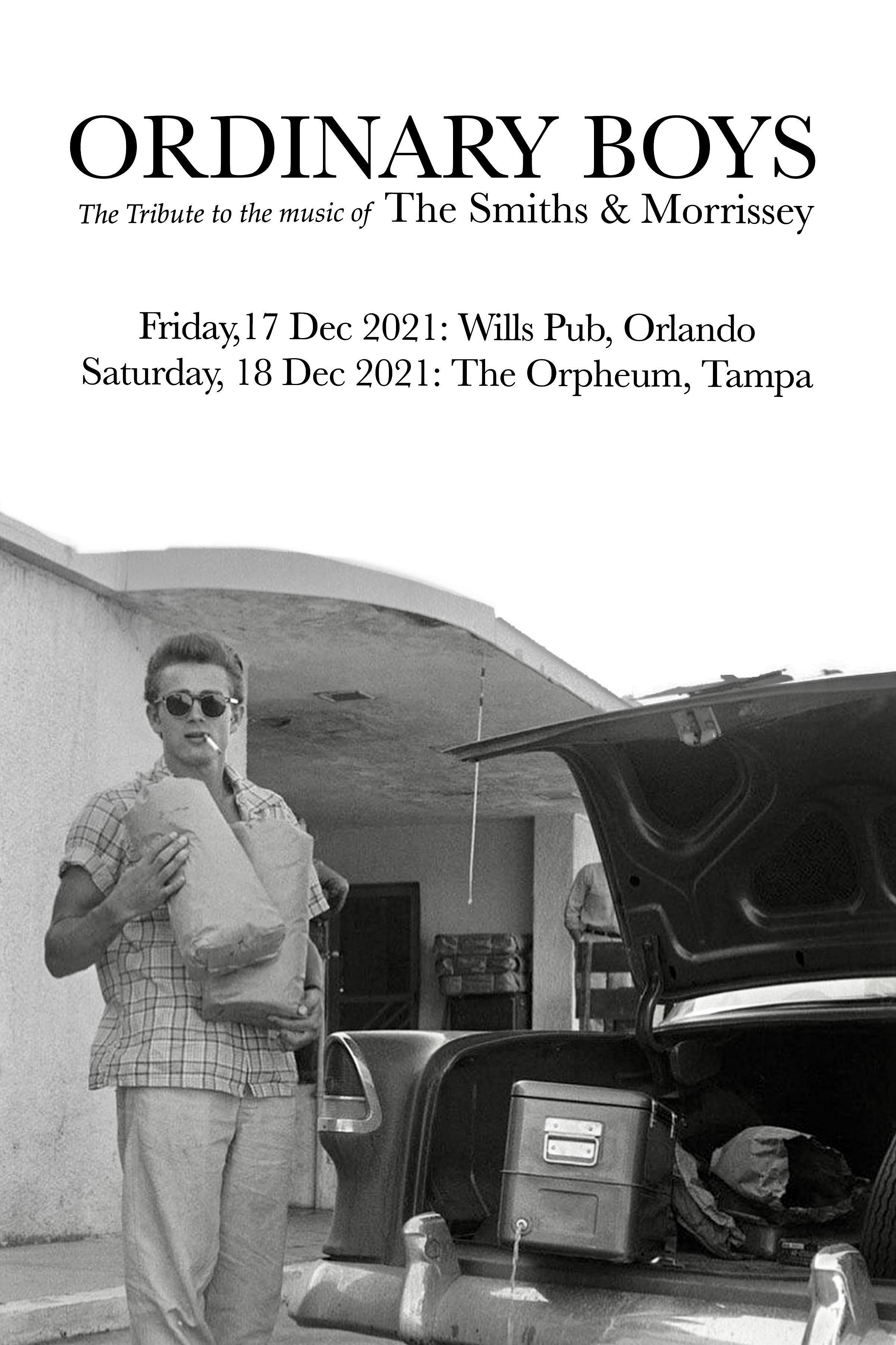 Ordinary Boys: A tribute to the music of The Smiths and Morrissey in Tampa