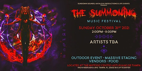 The Summoning Music Festival Halloween tickets