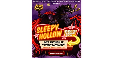 Sleepy Hollow Film Festival Friday Oct 15, 2021 Event tickets