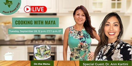 Cooking With Maya &  Dr. Ann Kartini tickets