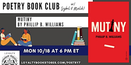 Loyalty's Poetry Book Club chats MUTINY tickets
