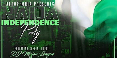Afrophoria - Naija Independence Party 2021 tickets