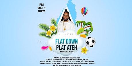 FLAT DOWN PLAT ATEH Inter Lucia tickets