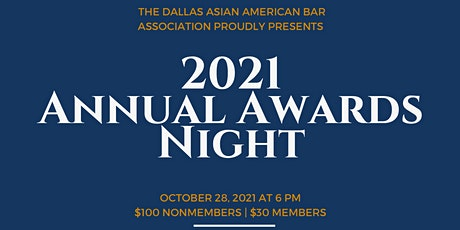 2021 DAABA Awards Night Gala tickets