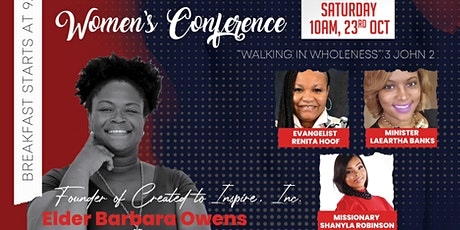 The Total Woman: Walking in Wholeness tickets