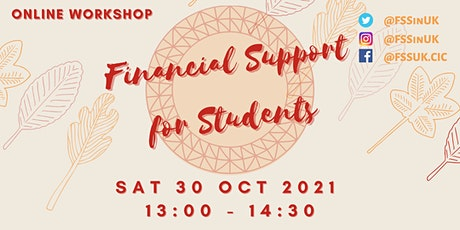 FSS - Financial Support for Students Workshop (October) tickets