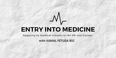 Entry into Medicine: UK and Europe bilhetes