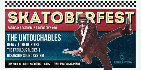 Skatoberfest ft.The Untouchables and 4 other bands tickets