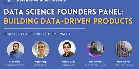 Iterative Venture: Data Science Founders Panel tickets