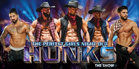 HUNKS The Show at HonkyTonk Saloon (Ladson, SC) 12/15/21 tickets
