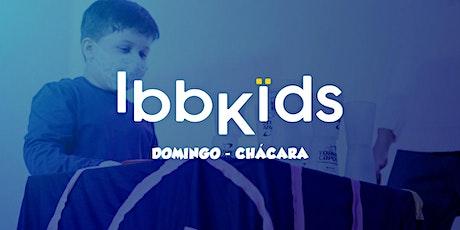 IBBKIDS - DOMINGO 9h  (4 - 8 anos) ingressos