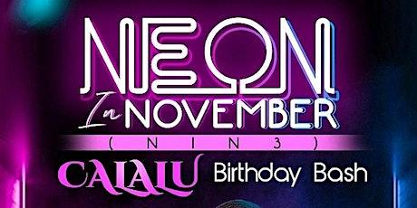 NEON IN NOVEMBER 3 tickets