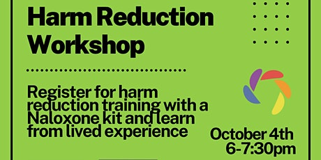 Lived Experience and Harm Reduction Workshop tickets
