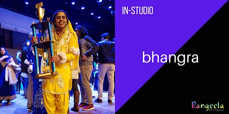 IN-STUDIO Bhangra Workshop with Sowmya tickets